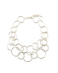 Hobbs | Metallic Anna Necklace | Lyst