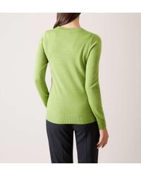Hobbs - Green Penny Sweater - Lyst