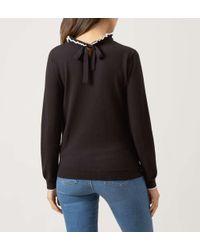 Hobbs - Black Tanya Sweater - Lyst
