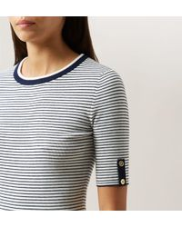 Hobbs - Multicolor Sailor Sweater - Lyst