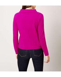 Hobbs - Pink Audrey Sweater - Lyst