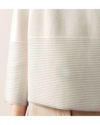 Hobbs - White Logan Sweater - Lyst