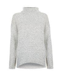 Hobbs   White Cyndy Sweater   Lyst
