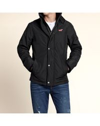 Hollister - Black The All-weather Jacket for Men - Lyst