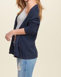 Hollister - Blue Easy Dolman Sweater - Lyst