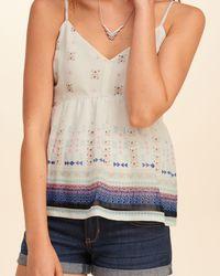 Hollister - Multicolor Drapey Easy Pocket T-shirt - Lyst