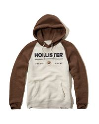 Hollister | Multicolor Colorblock Logo Graphic Hoodie for Men | Lyst