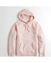 Hollister - Pink Guys Feel Good Fleece Hoodie From Hollister - Lyst