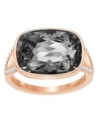 Swarovski   Metallic Holding Ring   Lyst