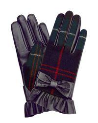 Hobbs   Blue Una Bow Glove   Lyst