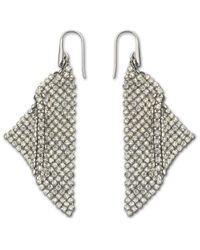 Swarovski - Metallic Fit Pierced Earrings - Lyst