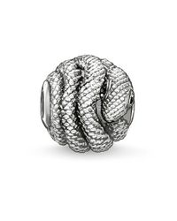 Thomas Sabo | Metallic Karma Bead Snake | Lyst