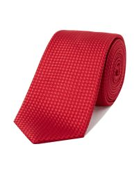Kenneth Cole | Dion Textured Geo Tie for Men | Lyst