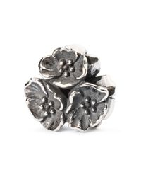 Trollbeads - Metallic Cherry Blossom Pendant - Lyst