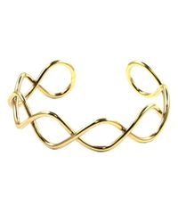 Nine West | Metallic Gold Wire Cuff Bracelet | Lyst