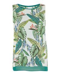 Salsa - Green Palm Tree Top - Lyst