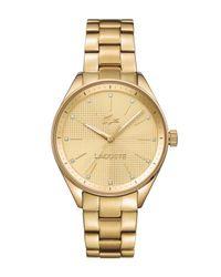 Lacoste | Metallic 42000898 Labies Bracelet Watch | Lyst