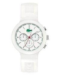 Lacoste | White 42010651 Mens Strap Watch | Lyst