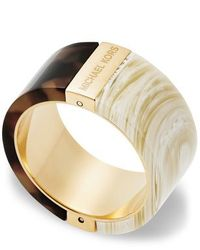 Michael Kors | Natural Mkj5301710004 Ladies Ring Size 8 | Lyst