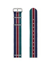 Smart Turnout - Blue Army Rugby Club Watchstrap 18mm for Men - Lyst