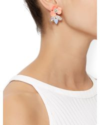 Accessorize | Multicolor Bethany Statement Flower Earring | Lyst