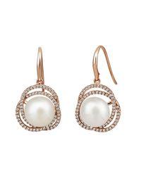 Jersey Pearl - Multicolor Freshwater Pearl Earrings - Lyst