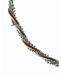 Indulgence Jewellery | Metallic Twist Bracelet | Lyst