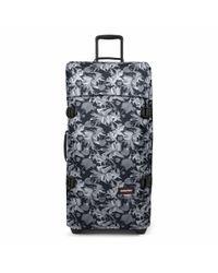 Eastpak - Tranverz Large Black Jungle Wheeled Suitcase - Lyst