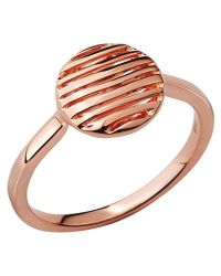 Links of London | Metallic Thames 18kt Rose Gold Vermeil Ring | Lyst
