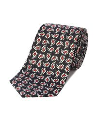 PS by Paul Smith - Blue Paisley Silk Tie for Men - Lyst
