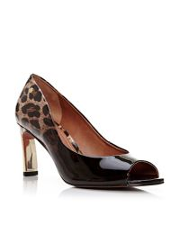 Moda In Pelle - Brown Camdoni Court Shoes - Lyst
