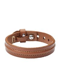 Fossil | Brown Ja6882040 Mens Bracelet for Men | Lyst