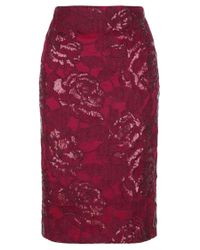 Fenn Wright Manson - Red Volcano Skirt - Lyst