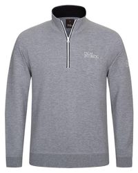 Oscar Jacobson - Gray Bradley Tour Jumper for Men - Lyst