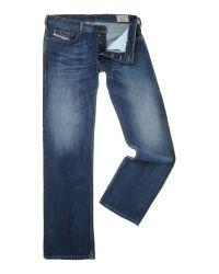 DIESEL | Blue Zatiny 8xr Bootcut Jeans for Men | Lyst