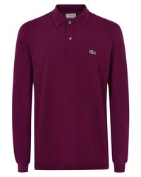 Lacoste | Purple L.12.12 Polo for Men | Lyst