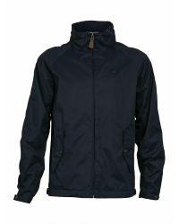 Raging Bull | Blue Casual Showerproof Zip Jacket for Men | Lyst