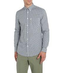 Ben Sherman | Green Heritage House Check Long Sleeve Shirt for Men | Lyst