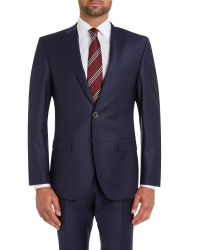 Bäumler - Blue Slim Fit Navy Suit Jacket for Men - Lyst