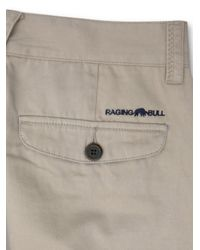 Raging Bull - Natural Classic Chinos for Men - Lyst