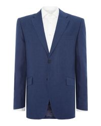 Howick - Blue Fabens Sb2 Linen Jacket for Men - Lyst