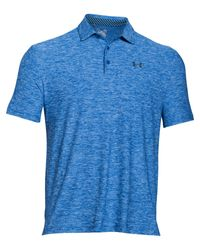 Under Armour | Blue Playoff Polo for Men | Lyst