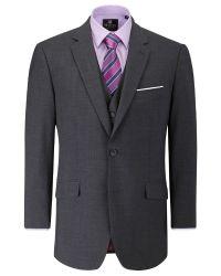 Skopes | Gray Oslo Plain Classic Fit Suit Jacket for Men | Lyst