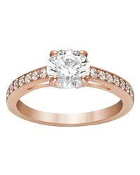 Swarovski   Pink Attract Ring   Lyst