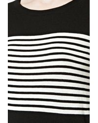 Great Plains | Black Betty Stripe Scoop Neck Top | Lyst