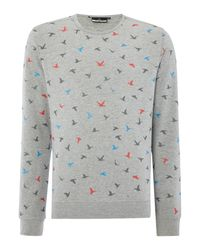 Duck and Cover   Gray Freestyle Sweat for Men   Lyst