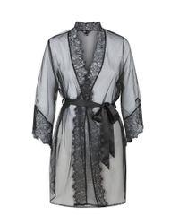 Ann Summers | Black Serena Robe | Lyst
