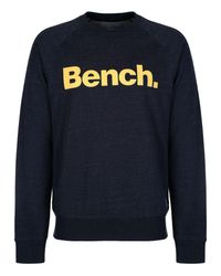 Bench | Blue Introvert Heavy Top for Men | Lyst