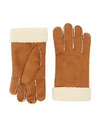 Howick | Brown Suede Borg Glove for Men | Lyst