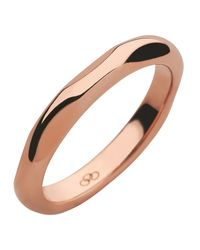 Links of London | Metallic 20/20 18kt Rose Gold Band Ring | Lyst